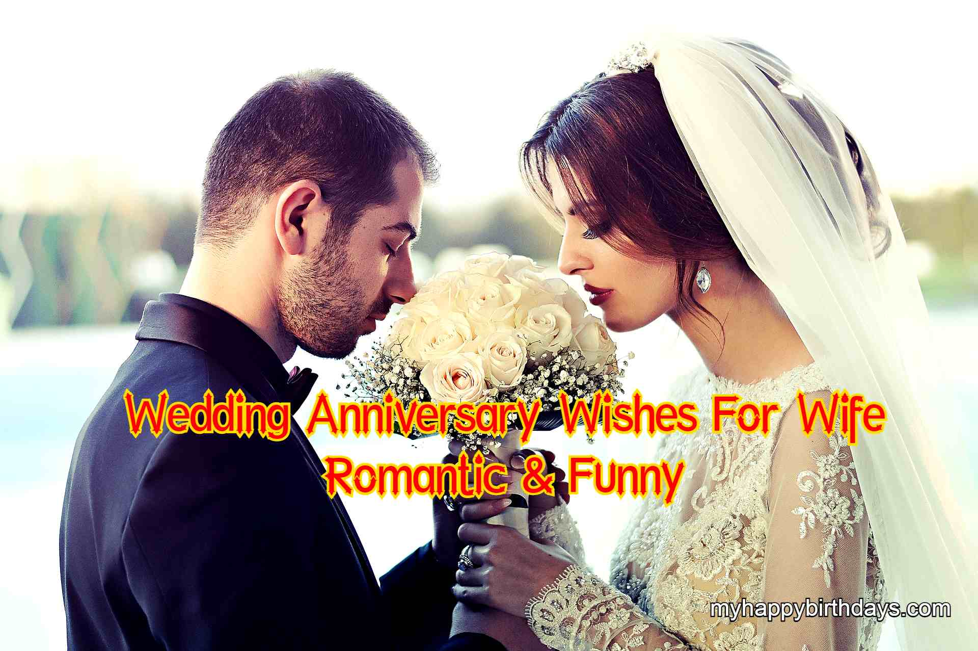 Best Wedding Anniversary Wishes For Wife | Romantic Anniversary Messages For Wife