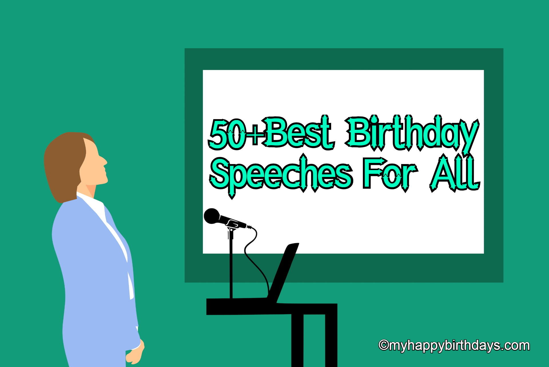 Birthday speech