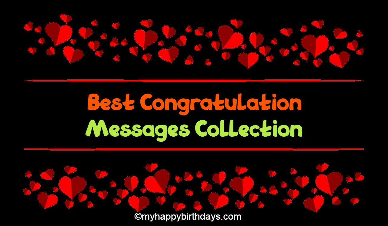 Best Congratulation Messages | Congratulation Wishes, Quotes