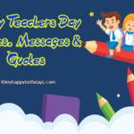 Happy best teacher day