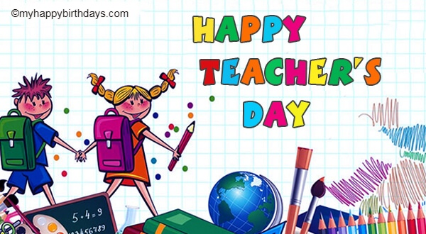 Happy teachers day wishes & messages