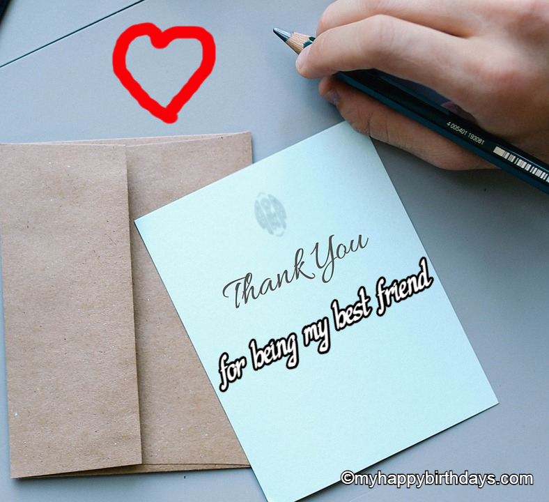 Thank you messages for friend