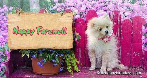 Best farewell messages