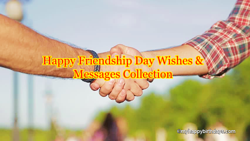 Happy Friendship Day Wishes, Messages, Status Quotes, Cute Sayings For Best Friends