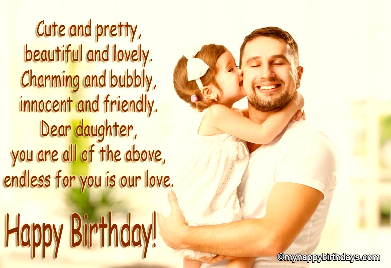 Birthday Message For Daughter
