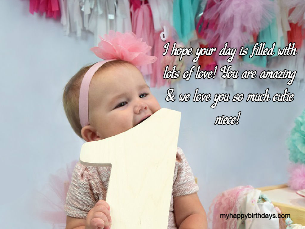 Stupendous 70 Beautiful Happy First Birthday Wishes Messages Quotes Personalised Birthday Cards Rectzonderlifede