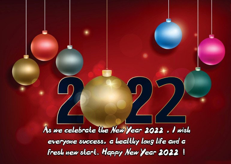 2022 happy new year wishes to all