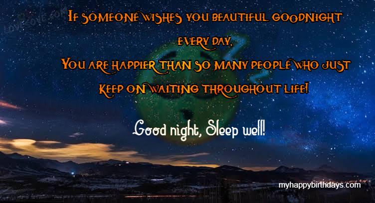 motivational good night messages