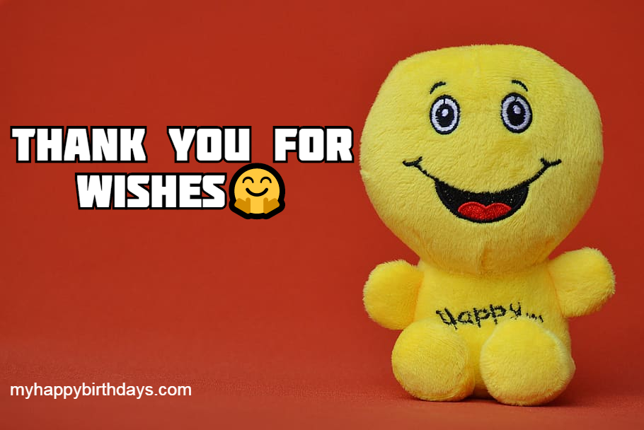funny thank you happy birthday wishes