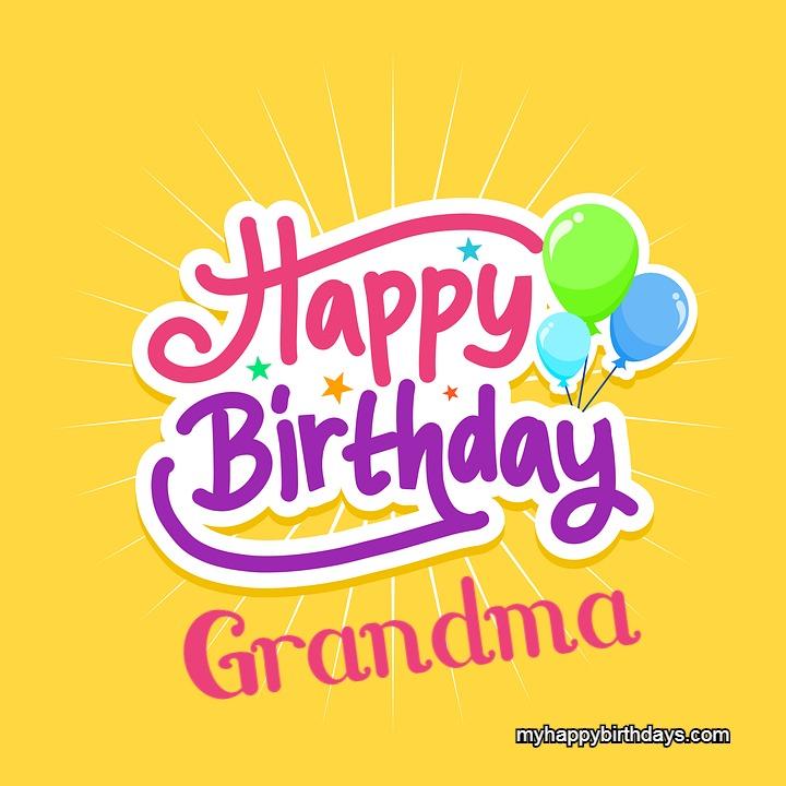 happy birthday wishes for grandma