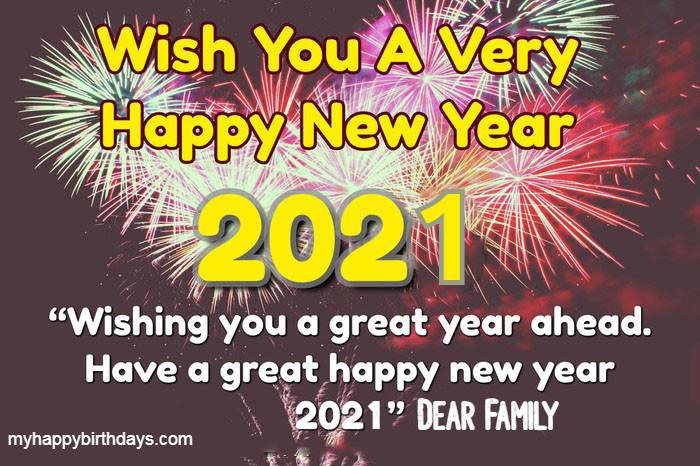 80 Happy New Year Wishes For Friends And Family Images 2021