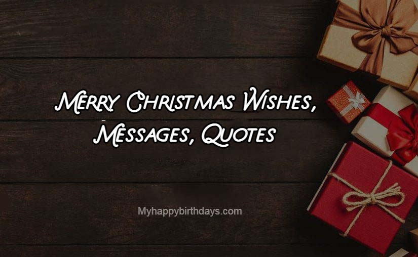 Merry Christmas Wishes 1