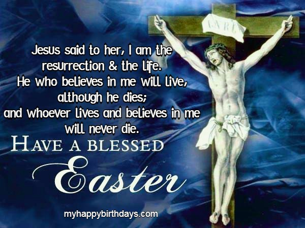 religious easter messages wishes