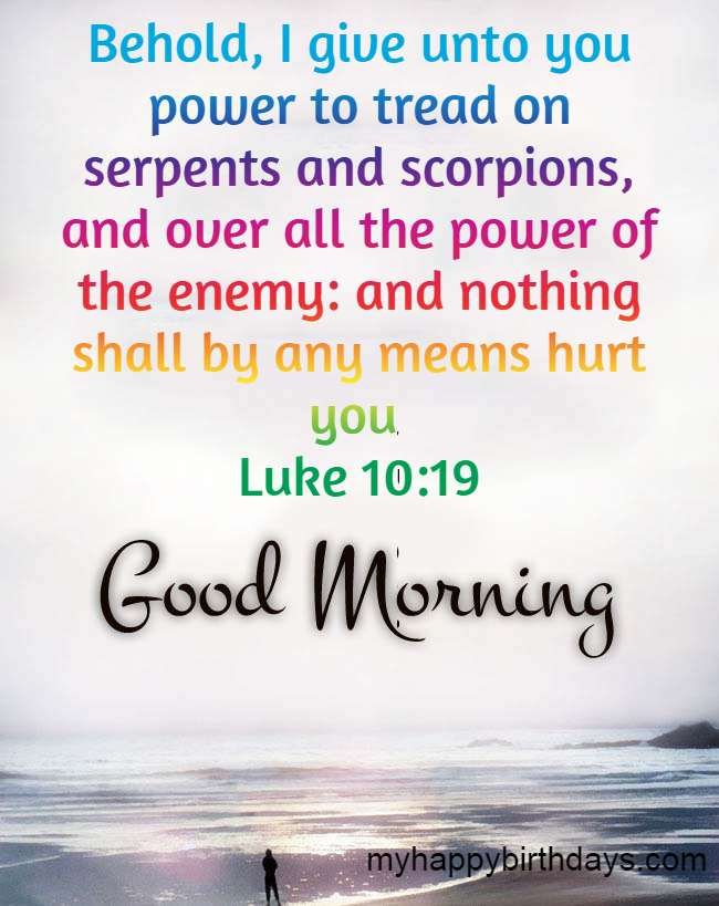 Good morning bible quotes Images free