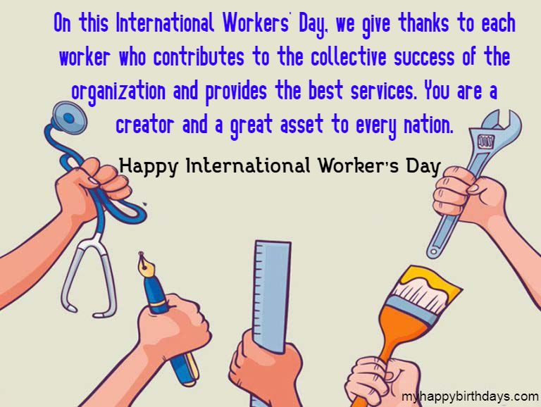 happy labour day messages