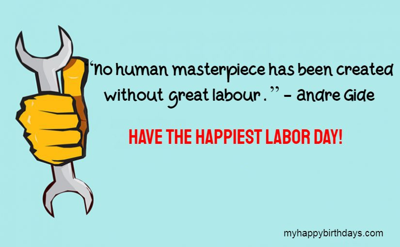 happy labour day wishes