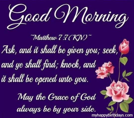 Good Morning Bible Messages