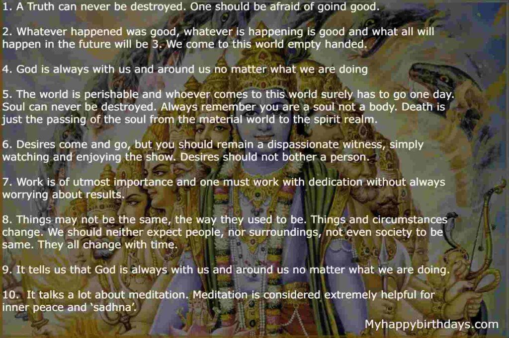 Life Lesson From Bhagavad Gita