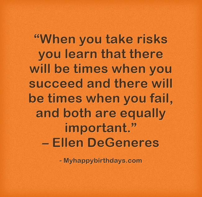 Small Business Motivational Quotes For Taking Risk