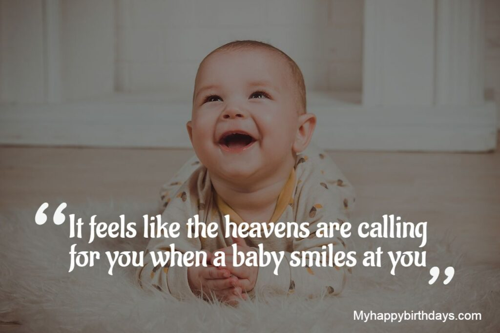 Cure Baby Smile Quotes