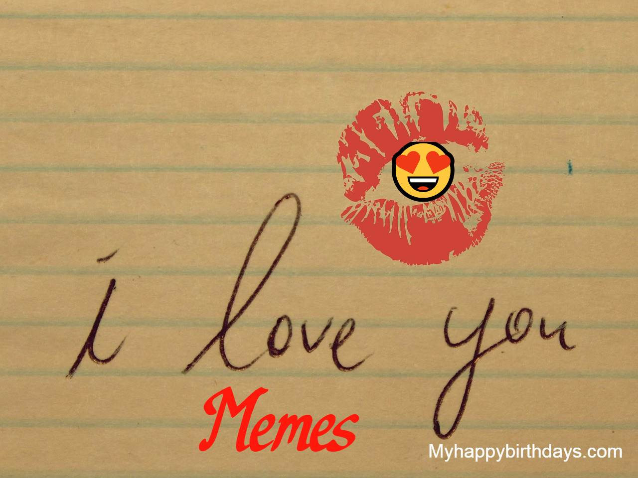 Best Funny I Love You Memes For Him, Her