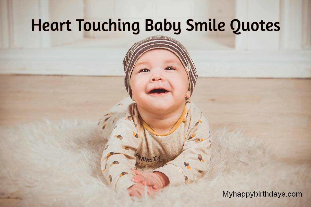 Heart Touching Baby Smile Quotes