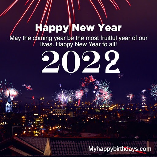 Happy New Year Wishes For Friends, Family