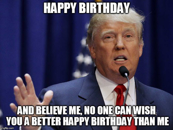 Funny Birthday memes 3