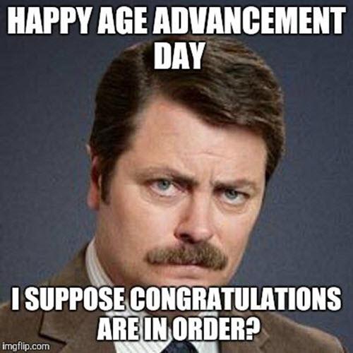 funny memes for birthday