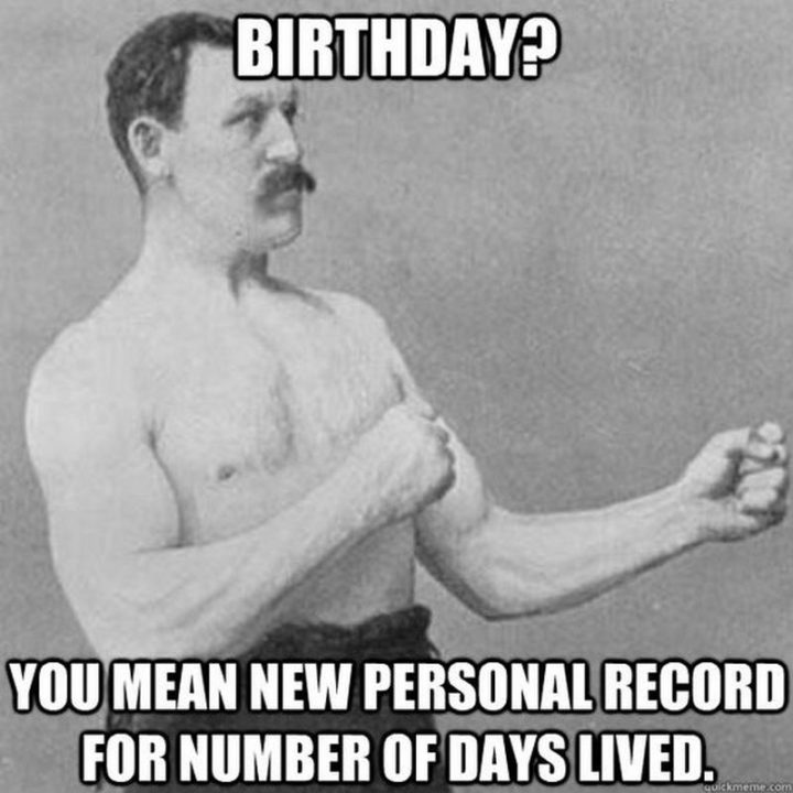 Funny Birthday memes 8