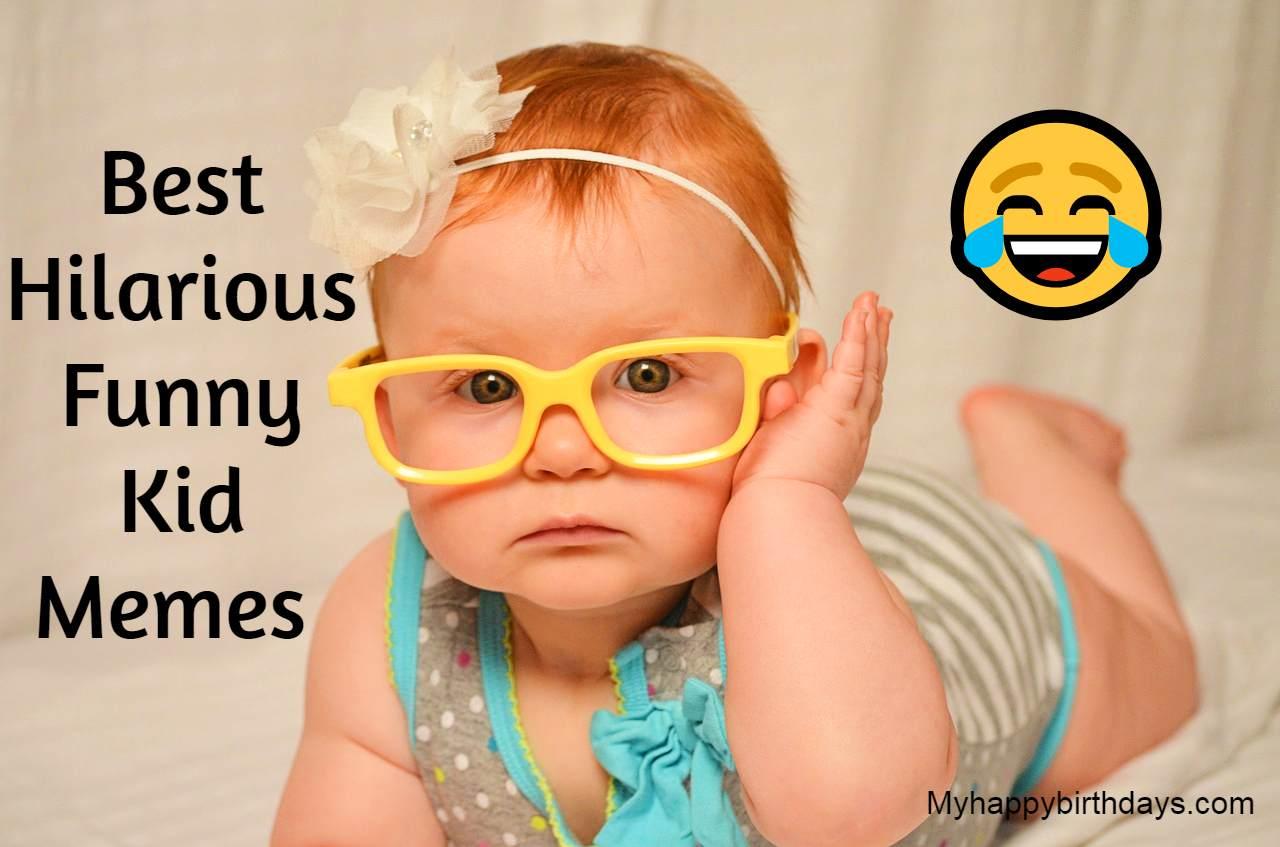 Best Hilarious Funny Kid Memes | Funny Memes For Kids