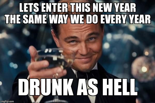 Let's Enter This New Year Meme