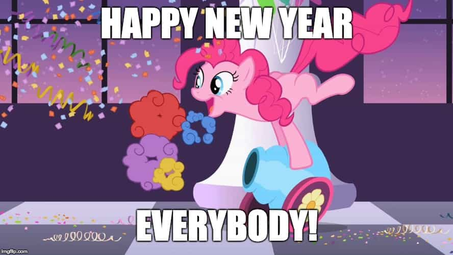Happy New Year Everybody Meme