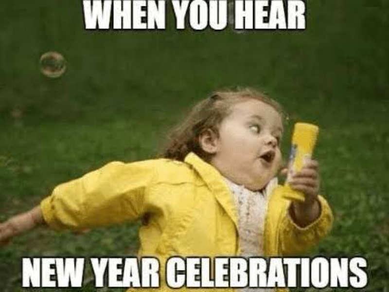 When You Hear New Year Celebrations