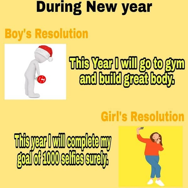 During This New Year Meme