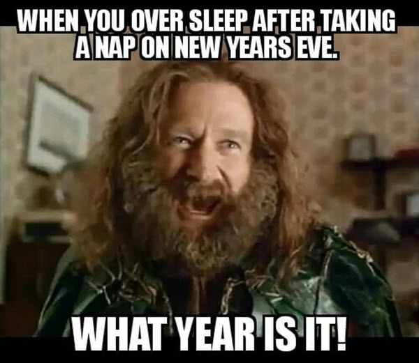 What New Year Is It Meme