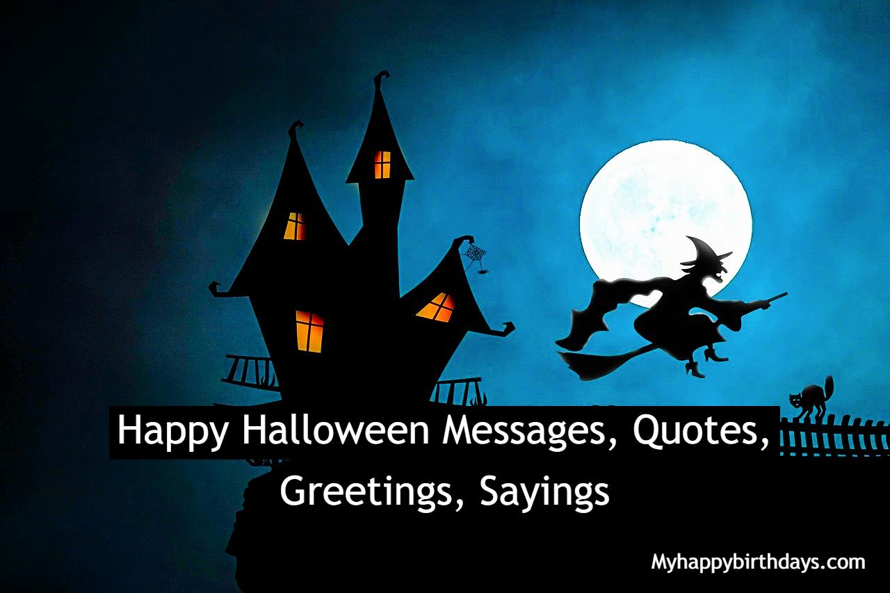 Happy Halloween Wishes | Happy Halloween Messages, Quotes, Greetings, Sayings Images