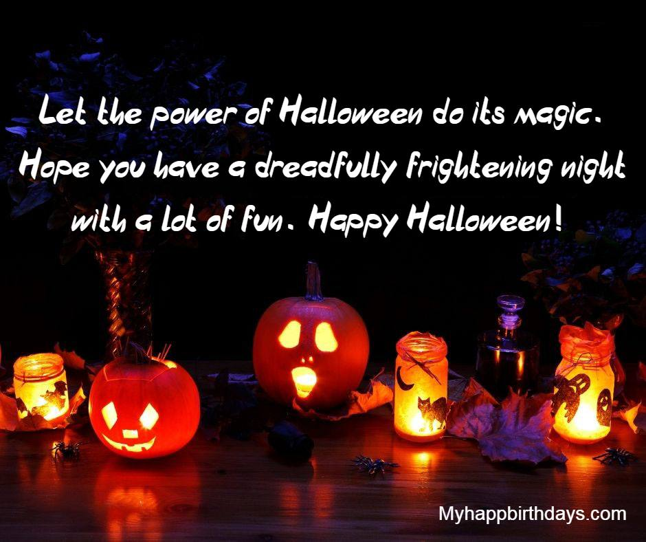 Halloween Greetings Card Messages And Sayings
