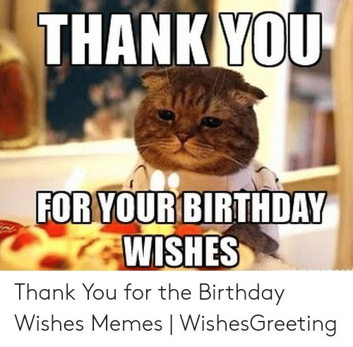 Thank You For The Birthday Wishes Meme 3