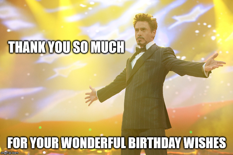 Thank You For The Birthday Wishes Meme 7